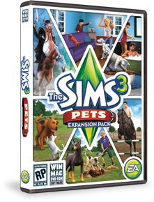 The sims 3: pets full free download.